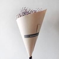 바이올렛 믹스 안개꽃 프리저브드