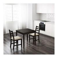 이케아 LERHAMN 테이블/2인용 식탁_(701079978)