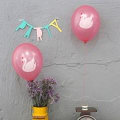 balloon-swan(6pcs)