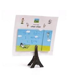 에펠탑 집게형 사진 & 메모홀더