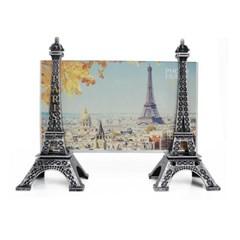레트로 느낌 에펠탑 액자