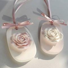로맨틱 로즈 석고 타블렛 (2colors)