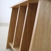 [벤트리] 원목 책꽂이 테이블