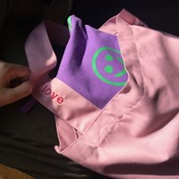 [킵캄]smile pouch_purple/m size