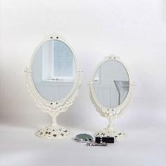 에바-아이보리 스텐딩 큐빅거울