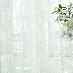 rose garden_레이스 커튼