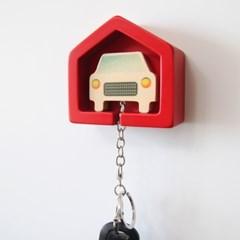 [포코] 자동차 열쇠고리 + 하우스 거치대