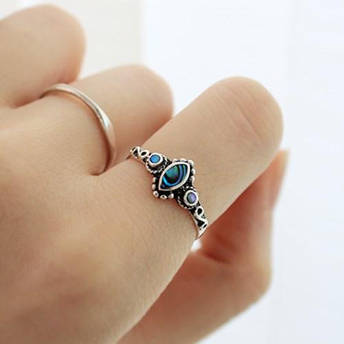 미니 에스닉 원석 반지(2types)mini ethnic gems ring