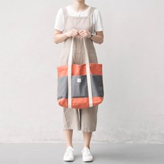 shopper bag dark orange