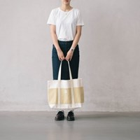 shopper bag ivory