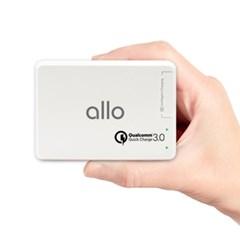 [알로] 6포트 퀵차지3.0 고속 멀티충전기 allo UC601QC30