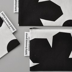 geranium pouch  by Jessica Nielsen