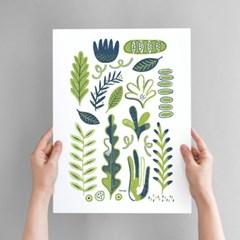 Plants Art poster