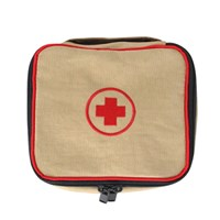 first aid kit beige