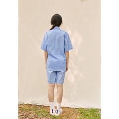 [closingment] men's pajama set - blue