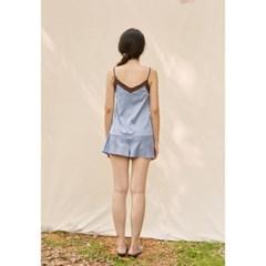 [closingment] color blocked camisole set - serenity