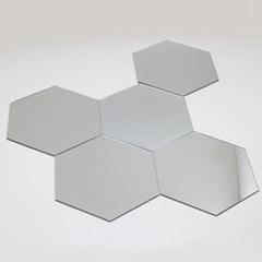 빠띠라인 인테리어 아크릴 거울 퍼즐형 벌집형