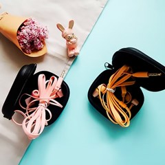 사이빌 V-23 소녀감성 샤방샤방 아이스크림 파스텔 이어폰