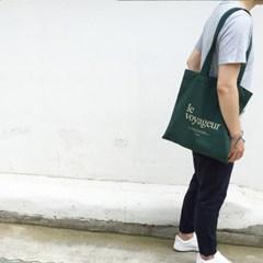 le voyageur_eco bag - GREEN