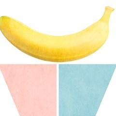 sweet banana/스윗 바나나[알루미늄 메탈 액자/4컬러]