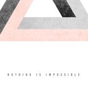 Nothing is impossible/불가능은 없다[알루미늄 메탈 액자/4컬러]