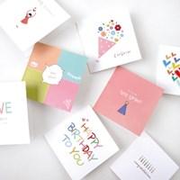 미니축하카드 5Set - 축하