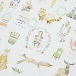 모리 데코 스티커 (9 sheets)