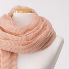 달캐시미어 lovely wool 'orange' 울스카프 순모 사계절