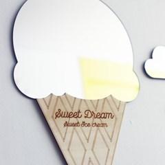 스위트 드림 아이스크림 디자인 거울