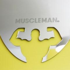 머슬맨 디자인 거울