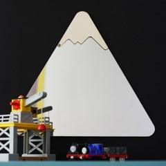 눈 내리는 산과 구름 두번째 이야기 3P 세트 디자인 거울