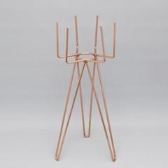 육각 화분 스탠드(L)-14.5(Ø) x 40cm