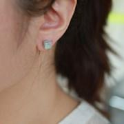 하올라이트 큐브 귀걸이