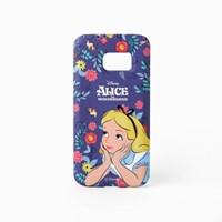 [Disney]Pattern Alice_갤럭시S7케이스