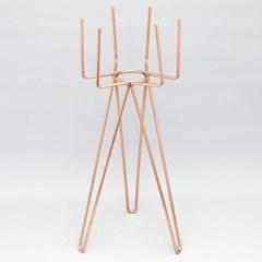 샤이니 화분 스탠드(L)-14.5(Ø) x 40cm