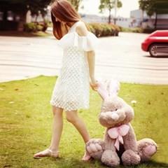 이비자 대형 토끼 애착인형 70cm