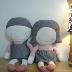 [날아라미쎄스깡]언니오빠 애착인형 만들기 패키지(28cm, 솜70g포함)