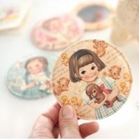paper doll mate pocket mirror ver.3/ ver.4