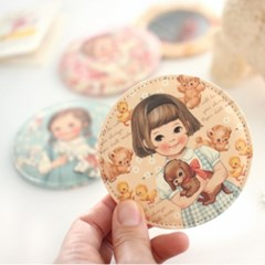 paper doll mate pocket mirror ver.3/ ver.4