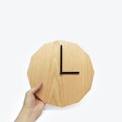 12 Clock Wood