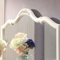 [미즌하임] 프렌치 드레스세트(드레스장+거울)
