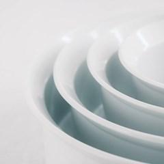 [아리타재팬] TY Round Deep Plate 160 White