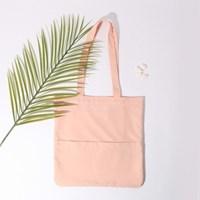 [살랑]Rosette Flap Pocket bag navy blue
