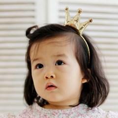 왕관 머리띠 #8025/ 여아 돌 백일 돌잔치 파티