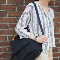 Pattern round shirts