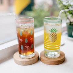 커먼키친 Retro Gold fineapple glass