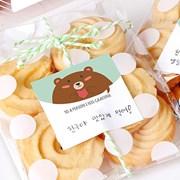 민트 베어 공라벨 (10개)