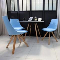 디센 솔라 750 사각 2인 식탁 테이블세트(의자2개포함)_무료배송