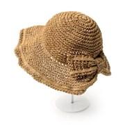 [베네]네츄럴 리본 와이어 모자