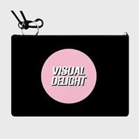 핑크도형 card pocket